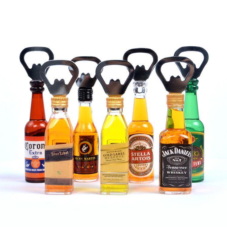 Modern Good Quality Beer Bottle Opener Acrylic Fridge Magnet