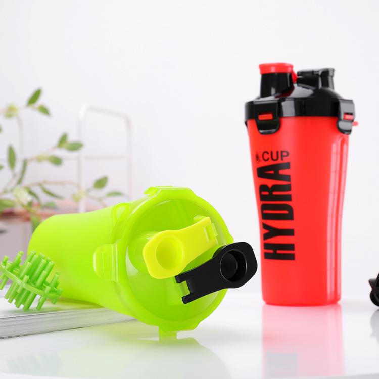 wholesale BPA free dual protein shaker bottle