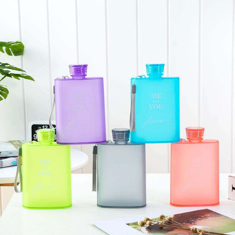 OEM promotional Advertisement plastic Notebook water bottle