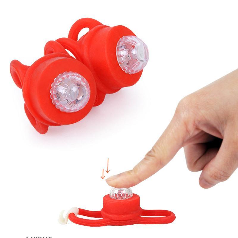 LED Bike Warning Light/Super Bright Flashing LED Bicycle Safety Rear Light
