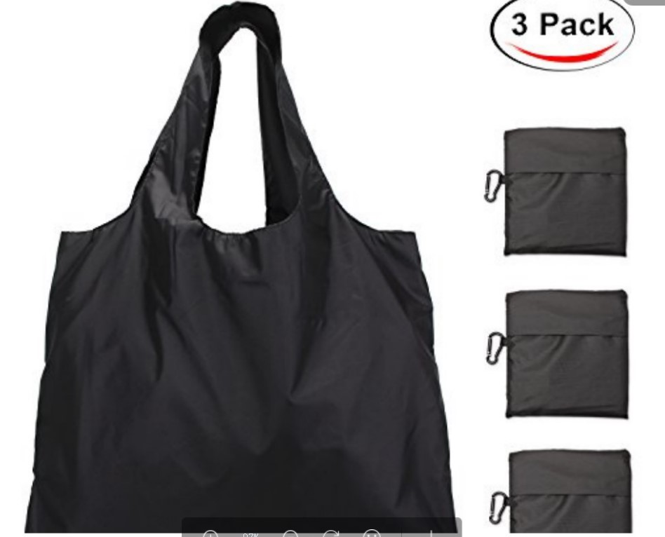 Reusable Recycle Foldable Grocery Travel Shoulder Handbag Shopping Tote Bag