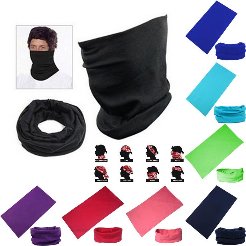 China wholesale custom Outdoor Sports Cycling bandana magic scarf