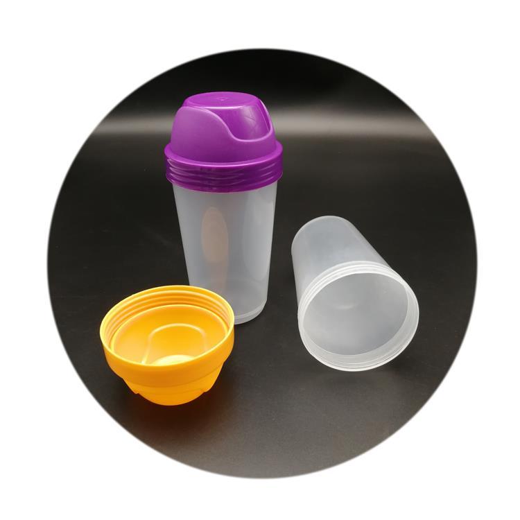 300ml cheap plastic cocktail shaker bottle