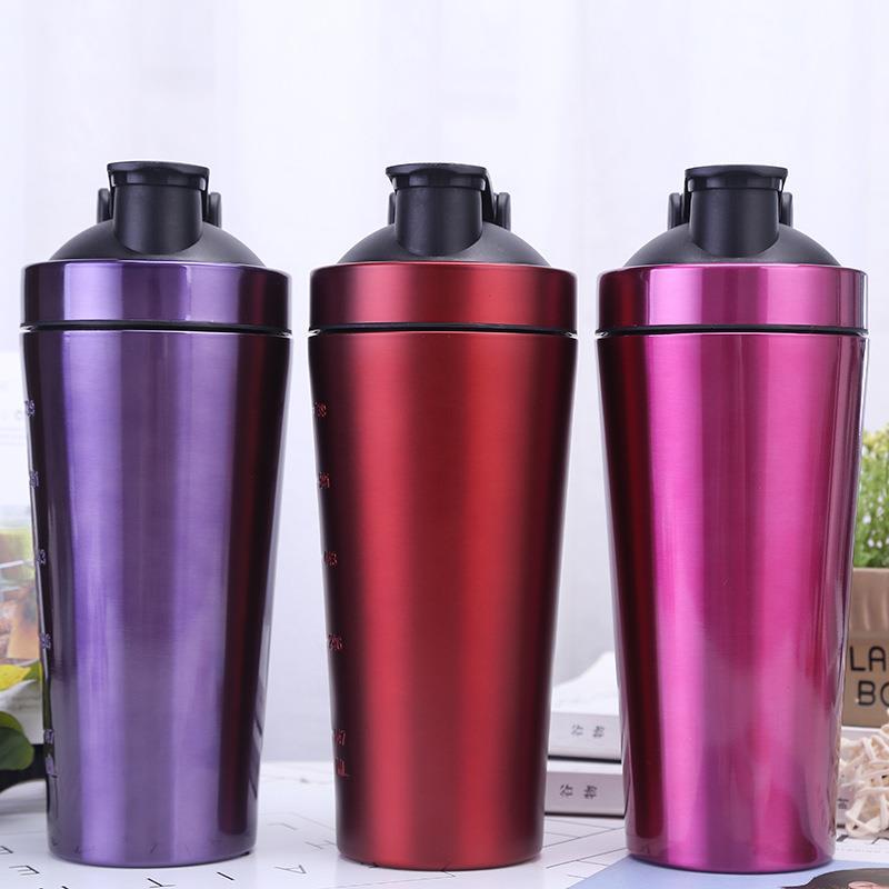 700ml Protein Stainless Steel Shake Bottle
