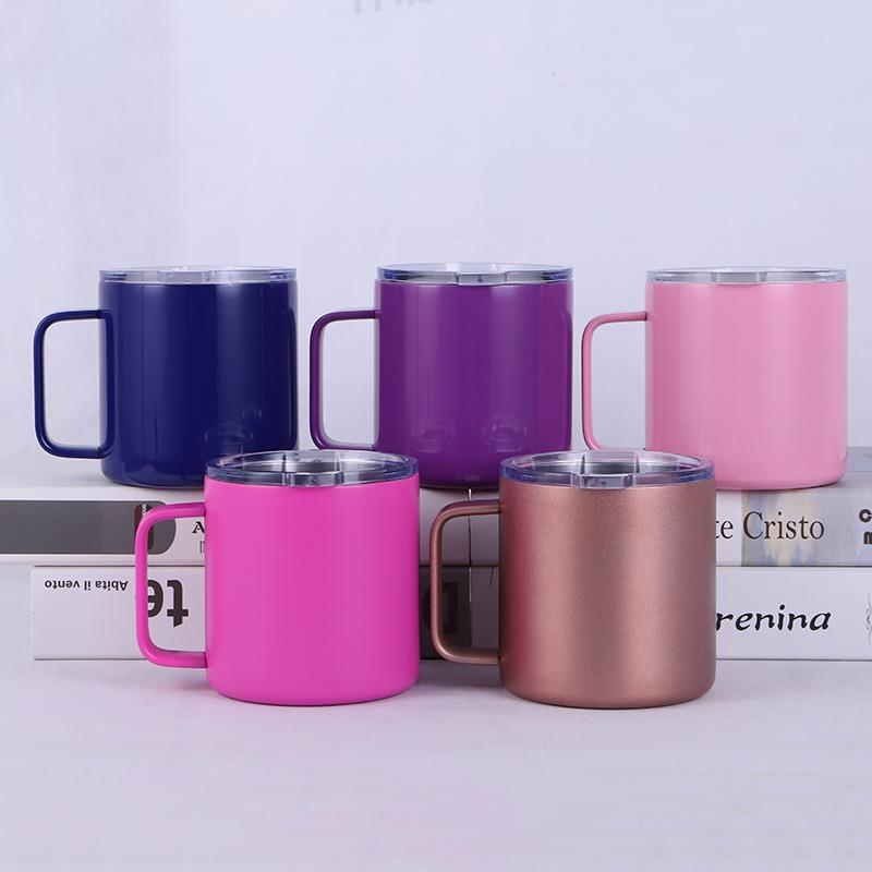 Stainless Steel 304 Tumbler double wall Drinking Milk Coffee Cup