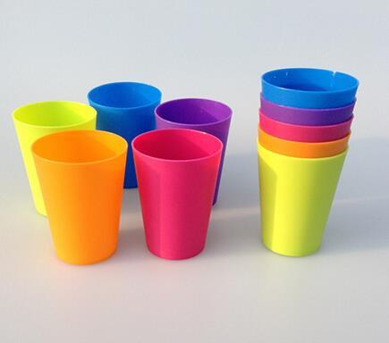 Reusable Promotional Logo Custom BPA Free Plastic Drinking Cup