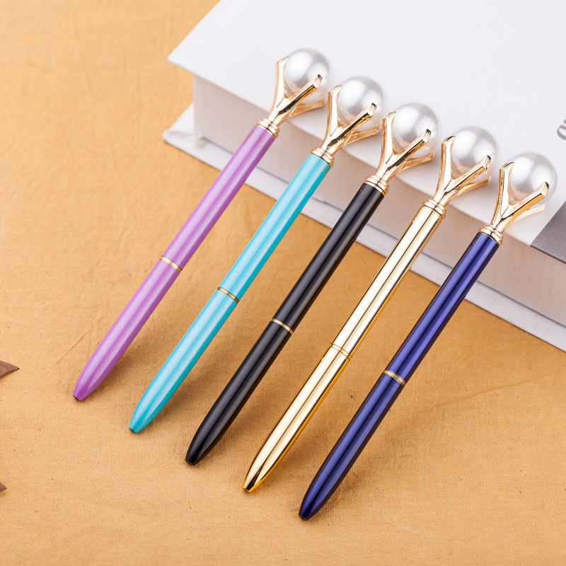 fancy color ballpoint pen with diamond