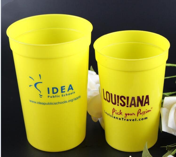 16OZ/20OZ PP Plastic Stadium Cups drinking cup