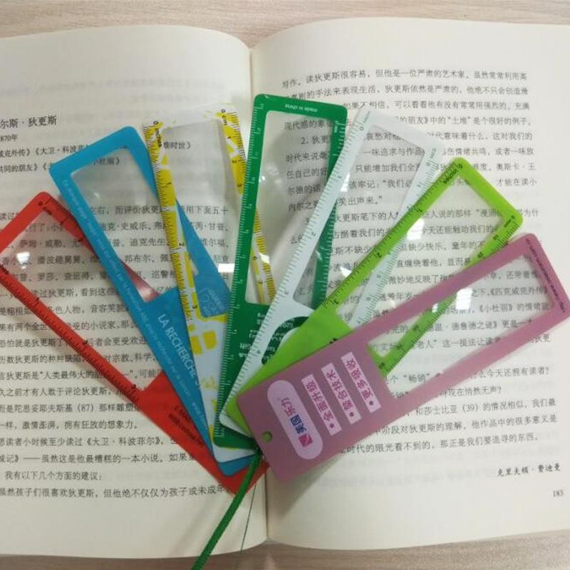 Bookmark magnifier/ruler Maginifer