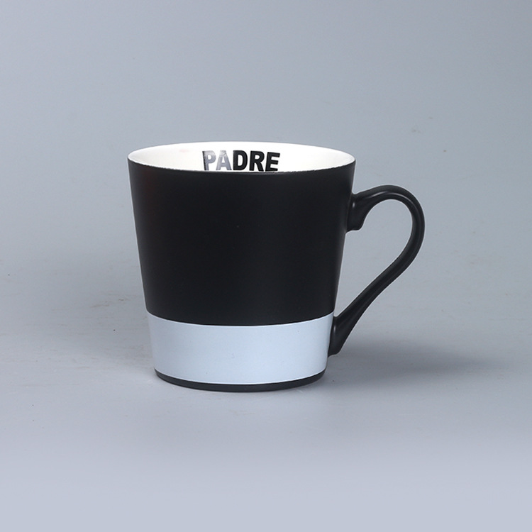 Wholesale Cheap Office Coloured Coffee Cup Custom Ceramic Mug