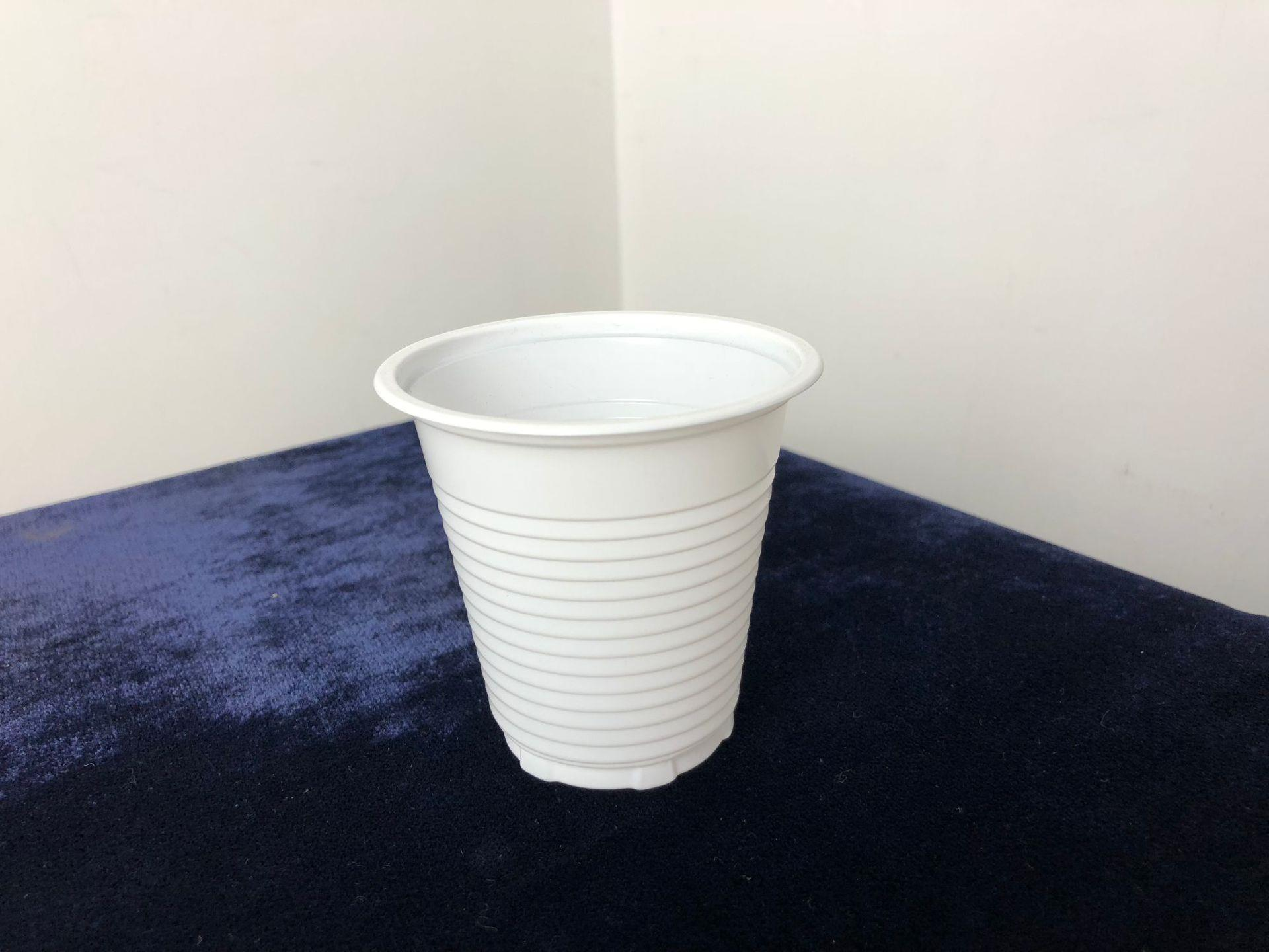 Wholesale OEM custom 5oz airline clear hard disposable PP plastic cups