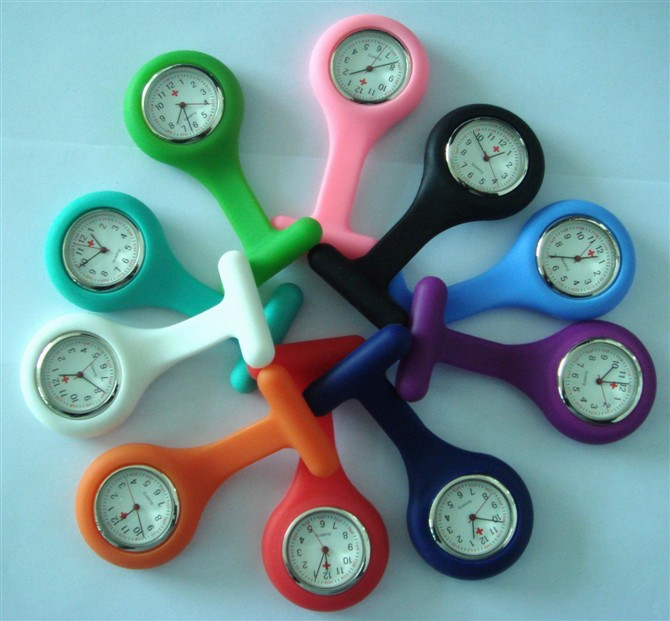 Silicone Rubber Nurse FOB watches
