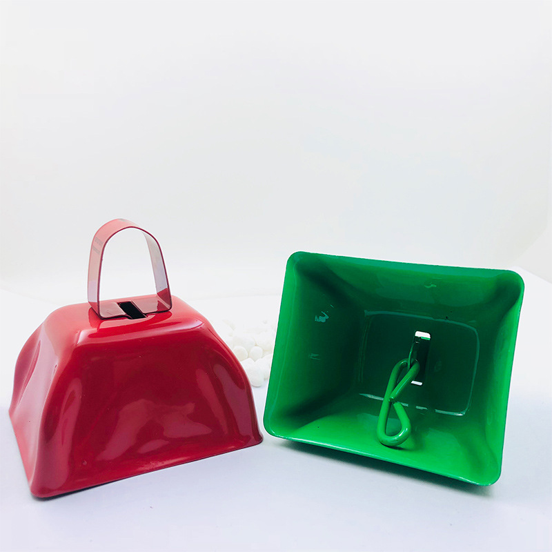 Metal School Spirit Color Cowbells
