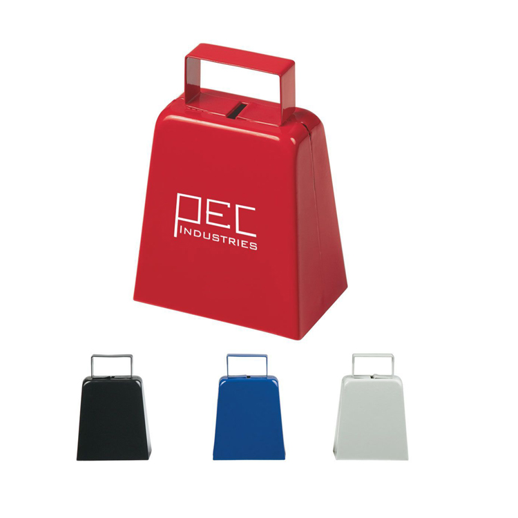 Large Noise Maker Metal Cowbell for Sport events