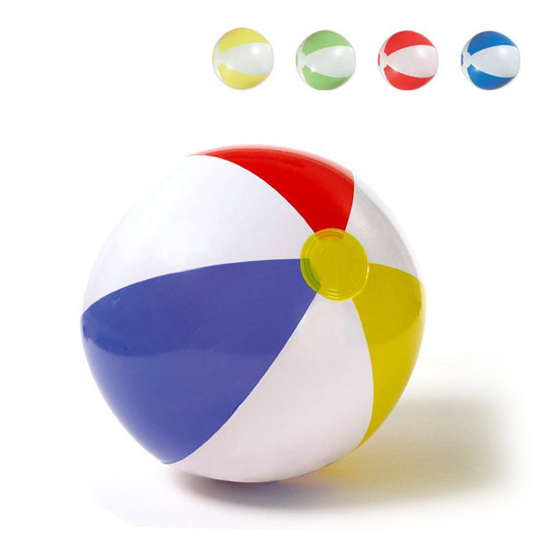 Promotional Custom Logo Summer Beach Ball PVC Inflatable Beach Ball