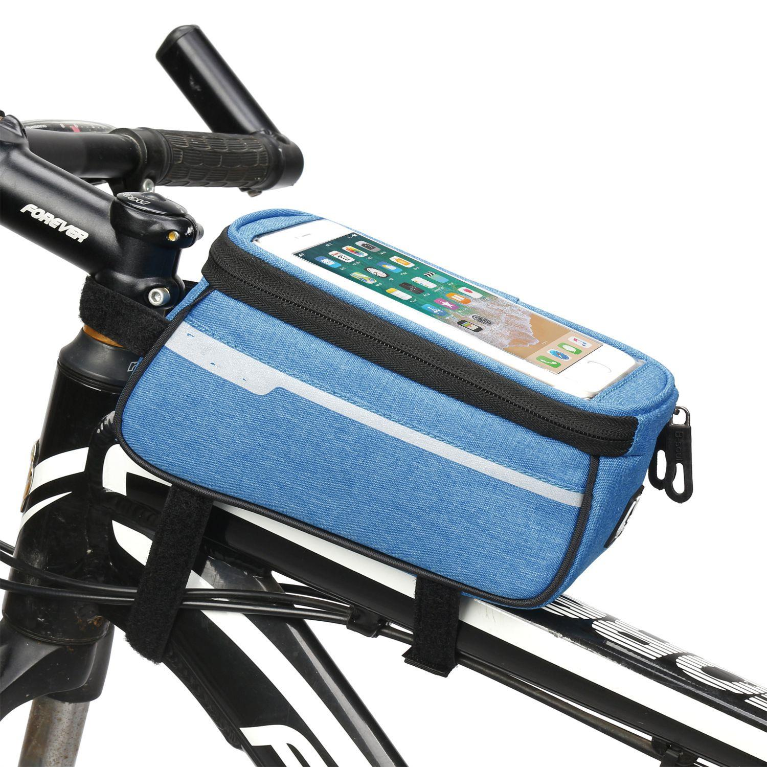 Promo Polyester transparent bicycle travel bag outdoor cycling bike bag