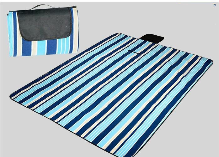 Custom design outdoor waterproof polyester picnic rug blanket