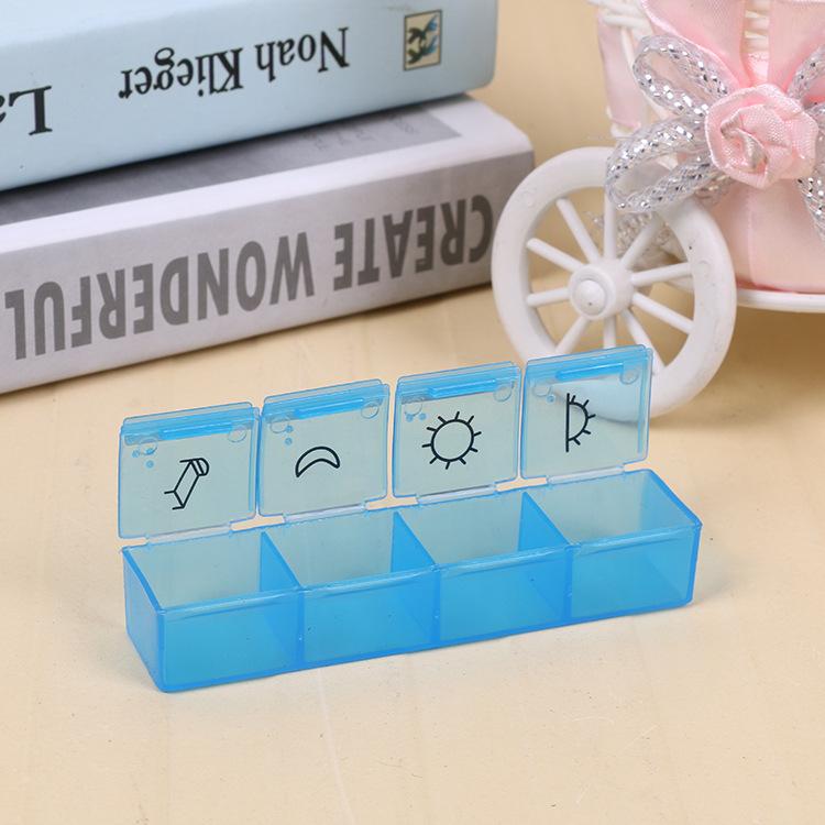 7 Day Pill Box 4 Times a Day Pill Organizer