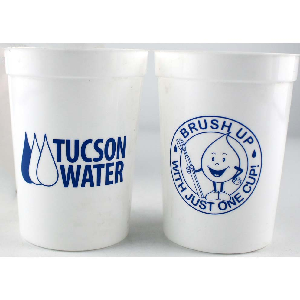 RE-USABLE PLASTIC CUPS 8OZ BPA FREE