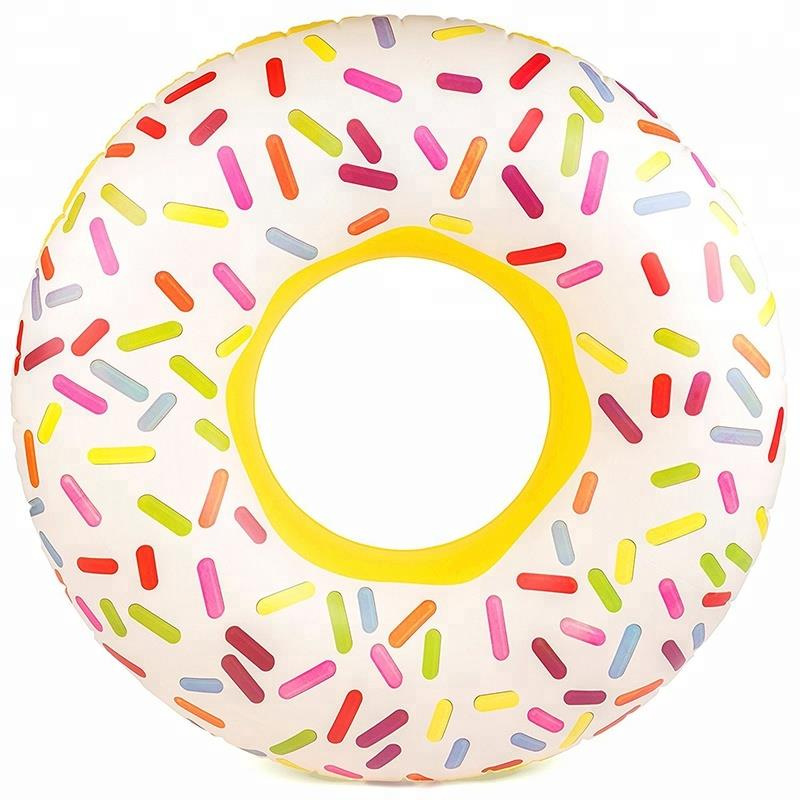 100cm diameter color point swim tube /ring/laps with handles for adult and kids
