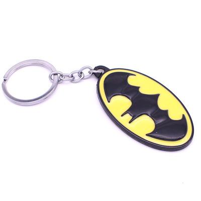 Bat signal keychain