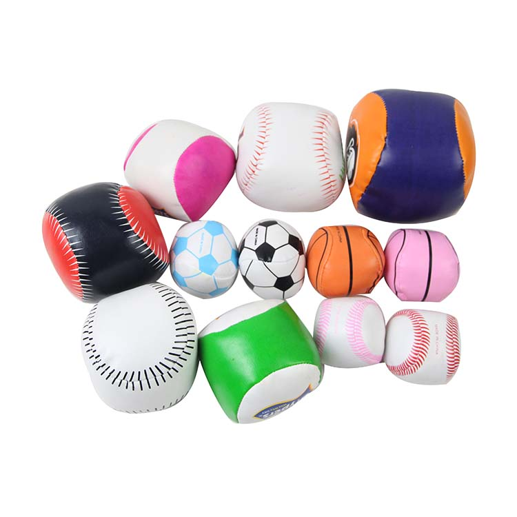 soft and leather small juggling ball