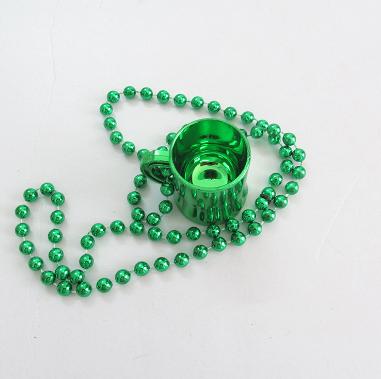 Irish Beer Mug Party Shot Glass Necklace