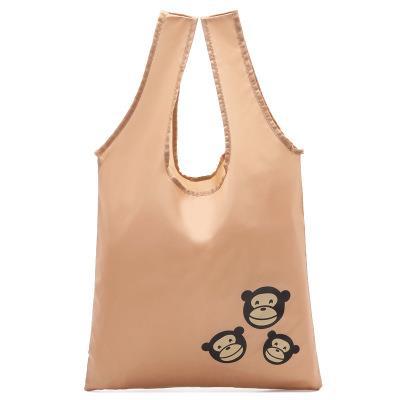 Wholesale Eco Friendly Nylon Foldable Reusable Shopping Bags