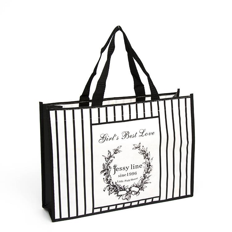 New Style Handle Messenger Non Woven Bag