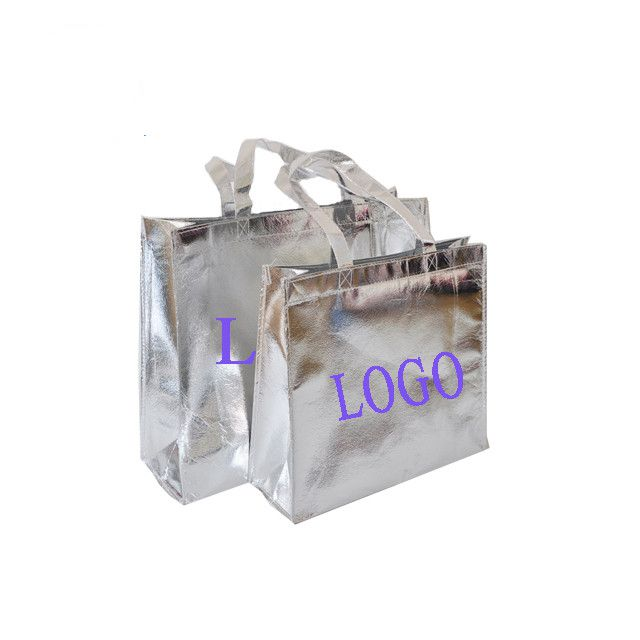 Recoverable film shopping non-woven bag