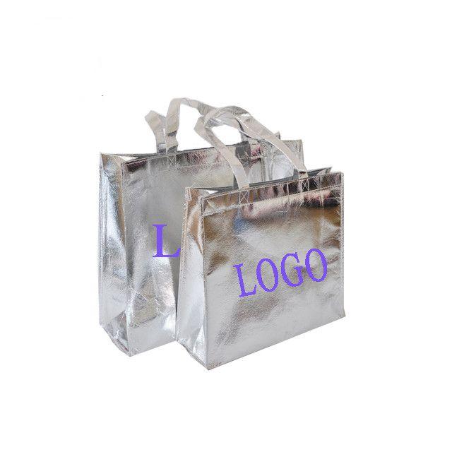Recoverable film shopping non-woven bag