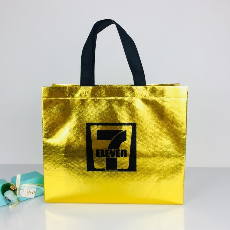 metallic lamination non woven shopping bag