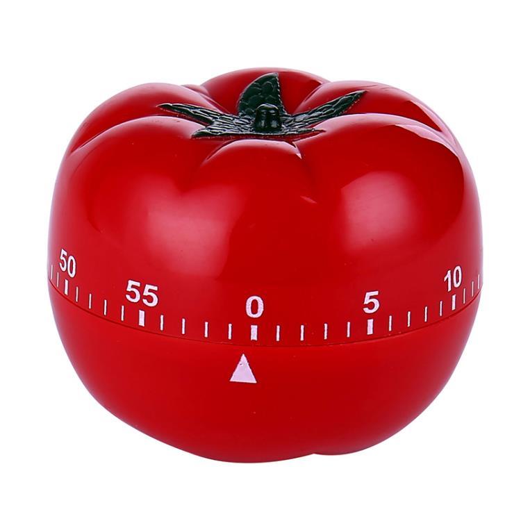 60 Min Plastic Tomato-Shaped Timer