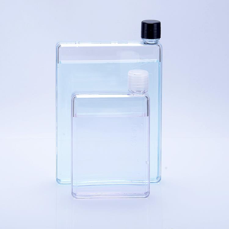 750ml Notebook Flat Water Bottle