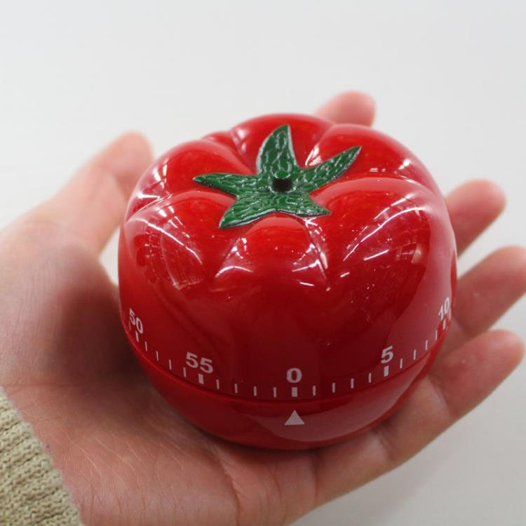 60 Minutes Tomato Shaped Kitchen Timer