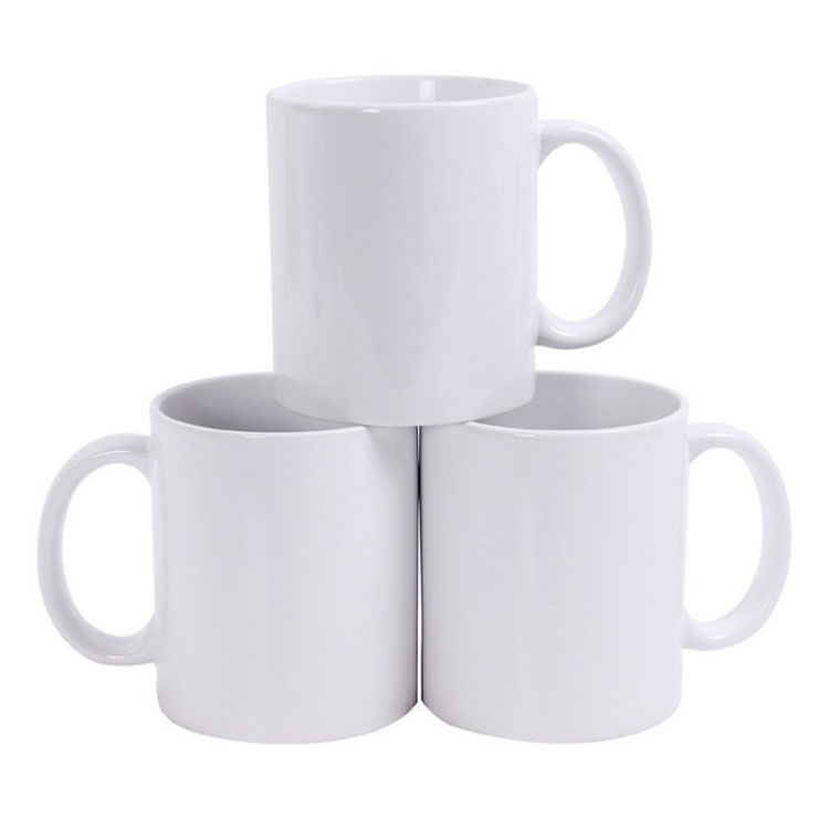 Promotional cheap white Ceramic Mugs