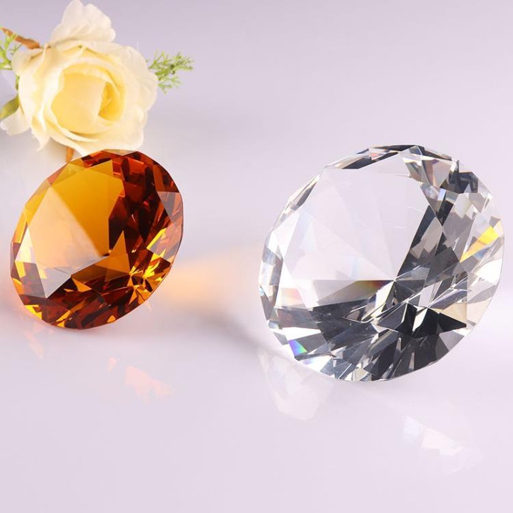 Delicate wholesale wedding souvenir decorations blue crystal diamond