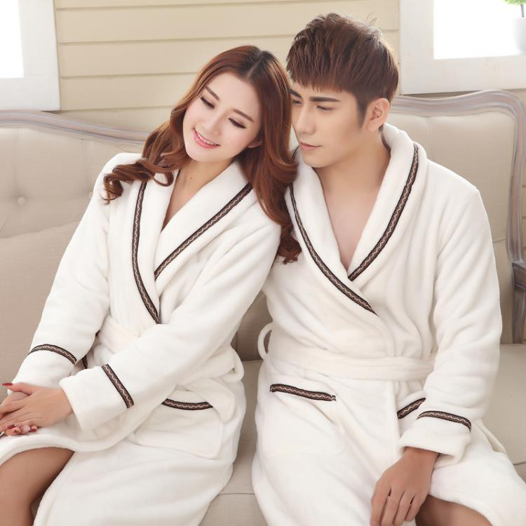 Manufacturers Wholesale Soft Customized Womens And Men Cotton Bathrobes