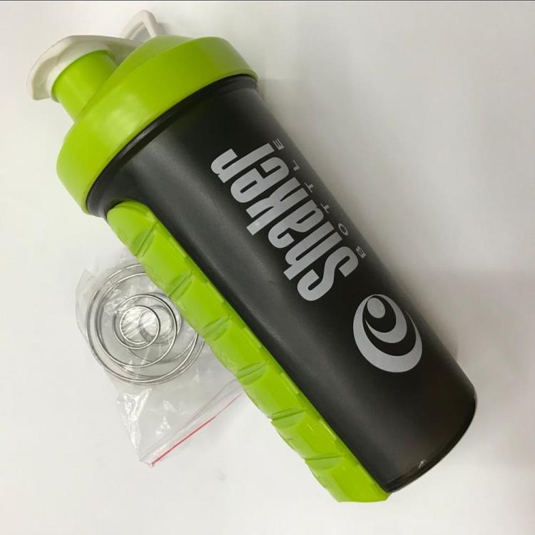 600 ML Plastic Shaker Bottle Customized Color BPA FREE