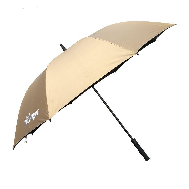Automatic advertising custom logo gold umbrella
