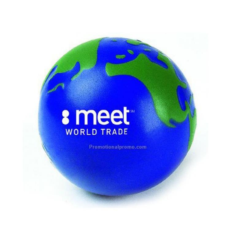 Customized Global pu stress ball, Global ball