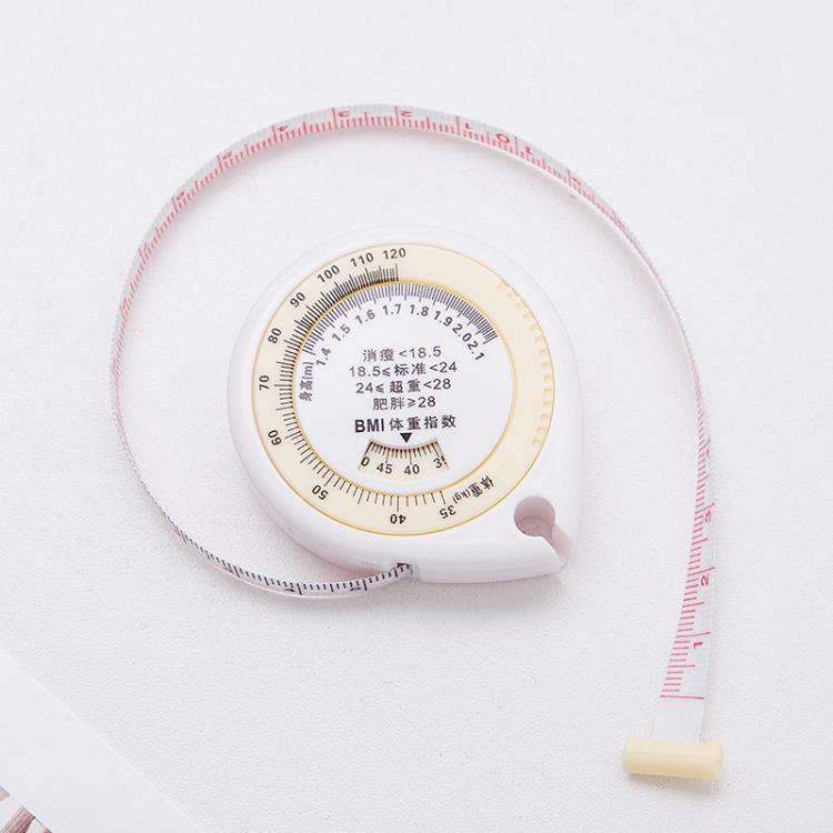 150cm Waist circumference measurement tape/BMI tape measure