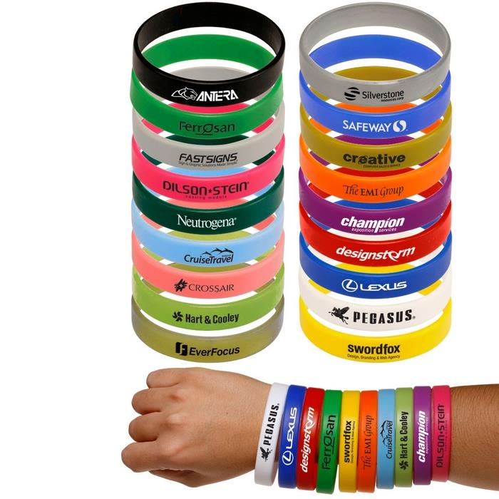 Promotional Cheap Custom Silicone Wristband