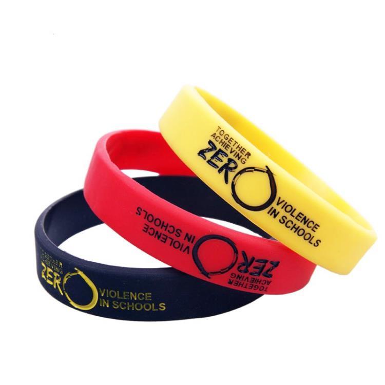 Custom Silicone Bracelet/Silicone Rubber Wristband