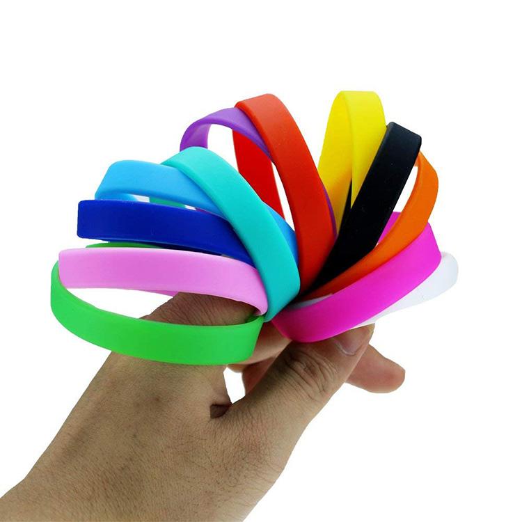 Wholesale Custom size Silicone Wristband,silicone bracelet