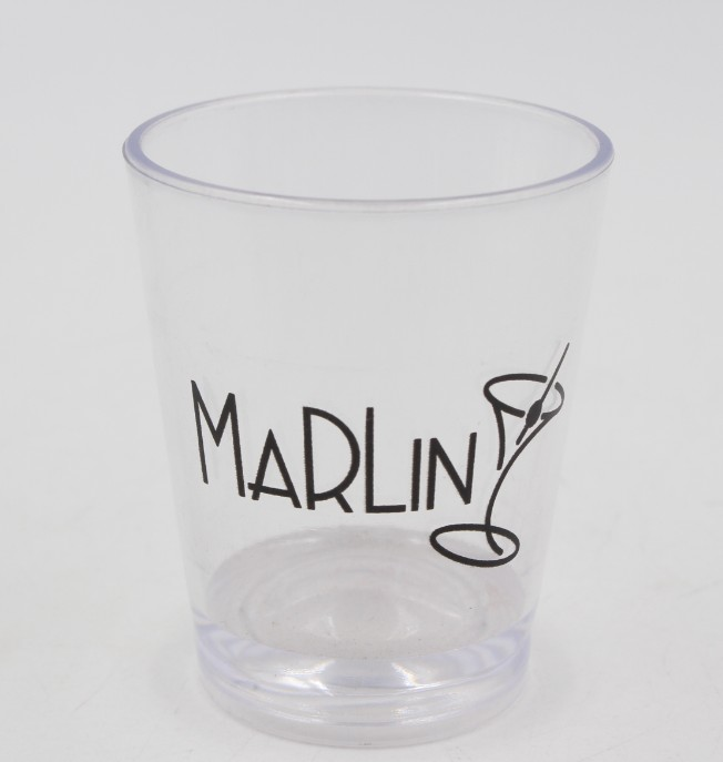 2oz clear plastic shot glasses 60ml shot glass