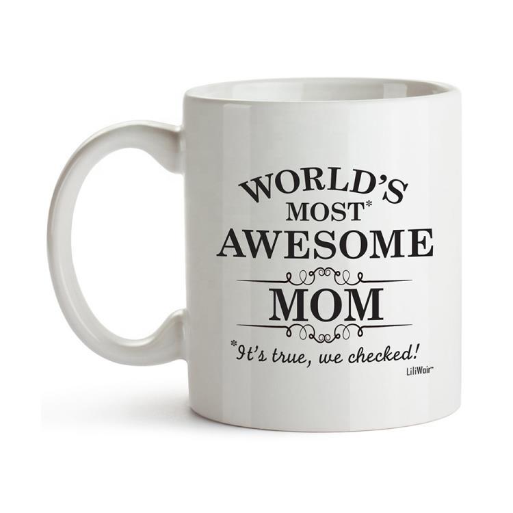personalized custom porcelain white sublimation ceramic coffee mug with logo
