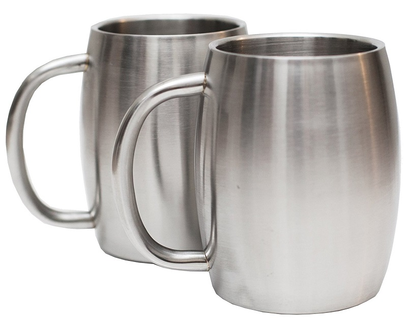 16oz/14oz Stainless Steel Double Walled Insulated beer tea Coffee Mugs