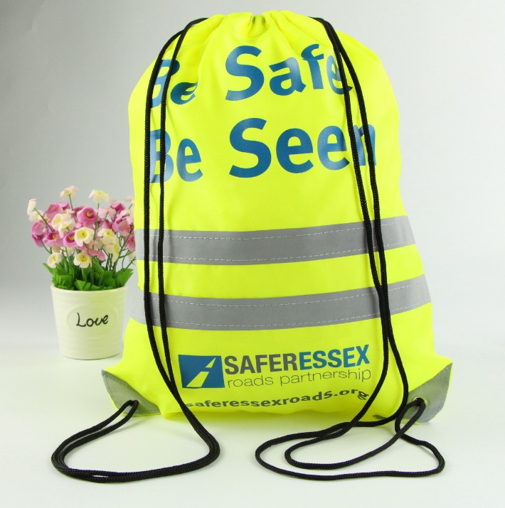 Polyester Drawstring Sport Bag With Own Logo