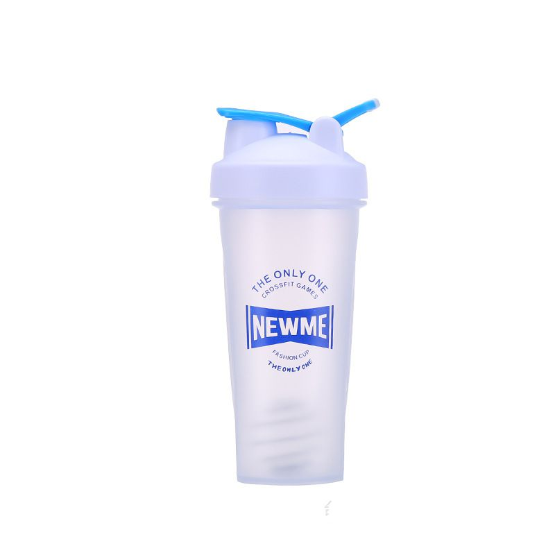 white shaker bottle
